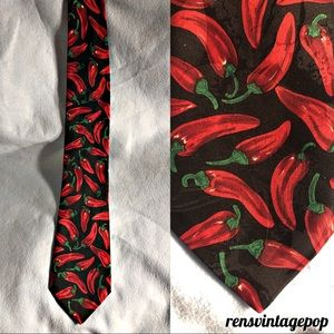 FATHERS DAY ! Hot Spicy Chili Pepper Tie